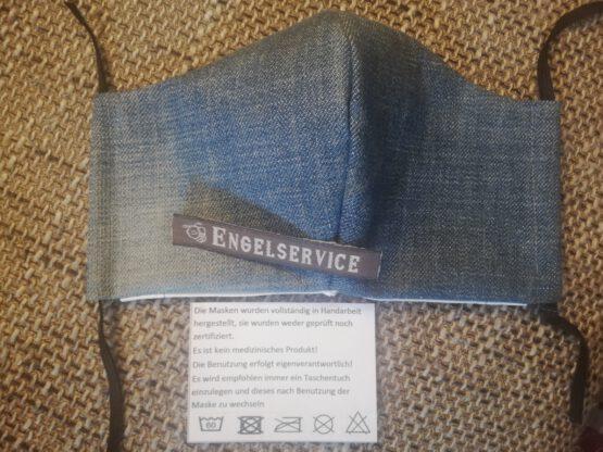Nasen-/Mundabdeckung Jeans