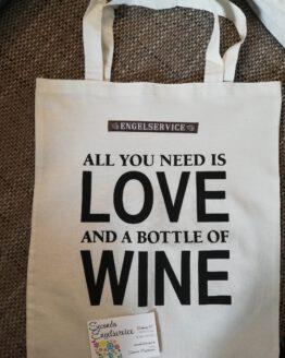 Spruchbeutel Wine